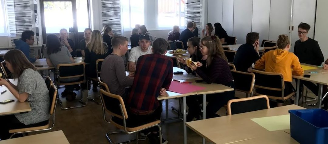 Innovationsdag på Skvaderns gymnasieskola