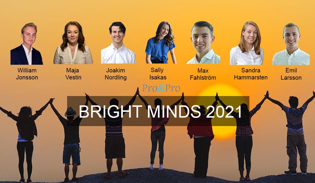 Sju studenter börjar Pro&Pro Student Program 2021