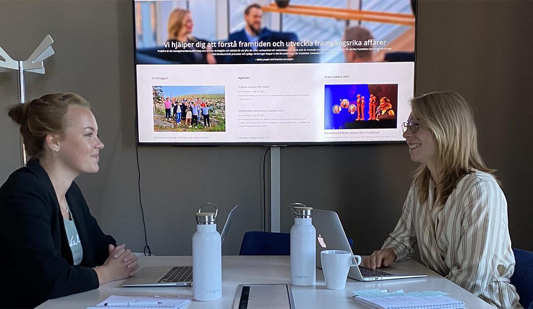 Internship: Rapporter och lärdomar