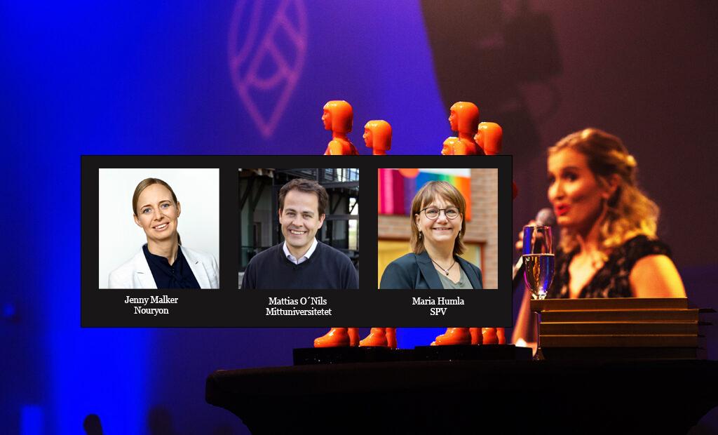 Finalisterna till Årets Ledare i Sundsvall 2021